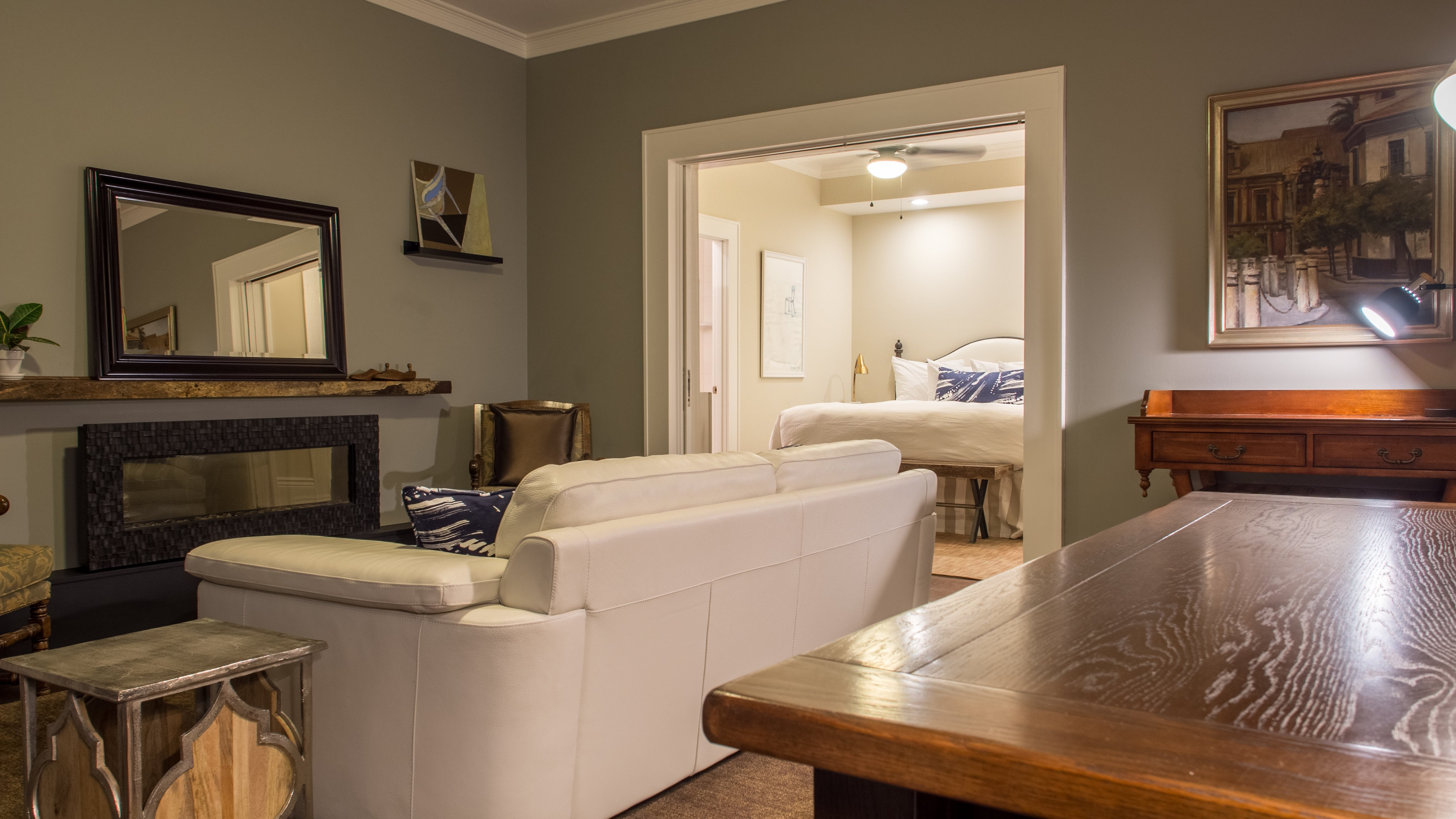 McCully Fireplace Suite