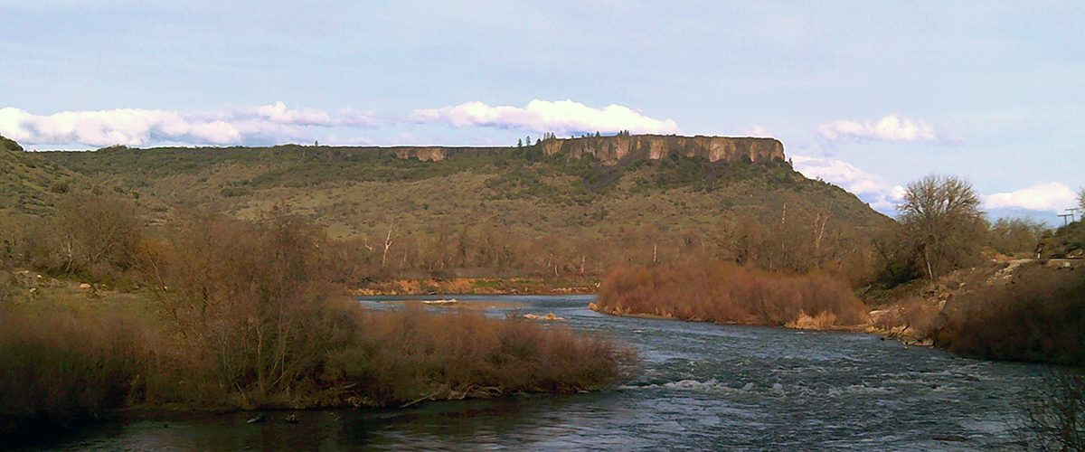 Table Rock above the Rogue River